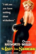 THE LADY FROM SHANGHAI Movie Poster