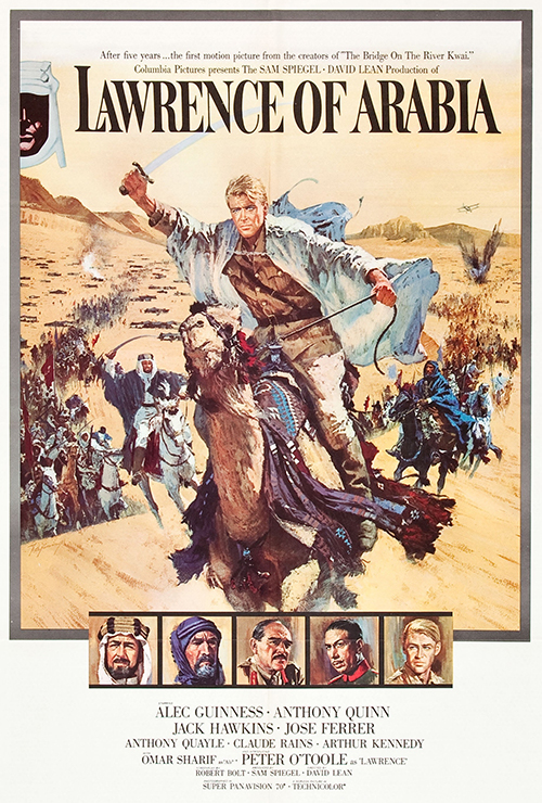 "Movie poster image for ""LAWRENCE OF ARABIA"""