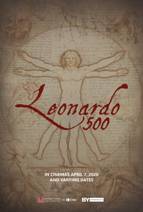 "Movie poster image for ""GREAT ART ON SCREEN: LEONARDO 500"""