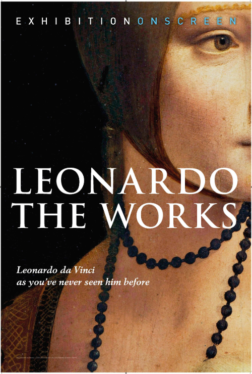 "Movie poster image for ""EXHIBITION ON SCREEN: LEONARDO: THE WORKS"""