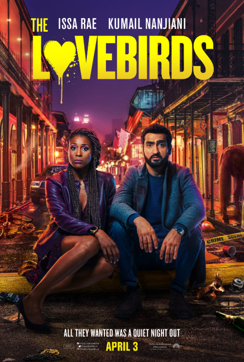 Movie poster image for 'THE LOVEBIRDS'