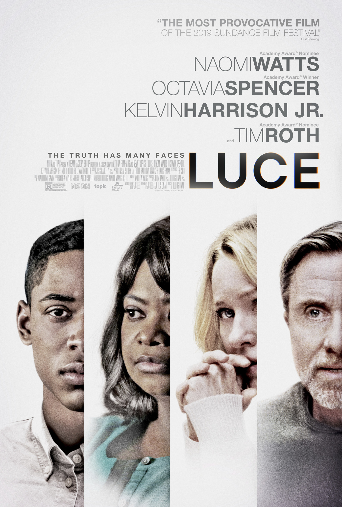 "Movie poster image for ""LUCE"""