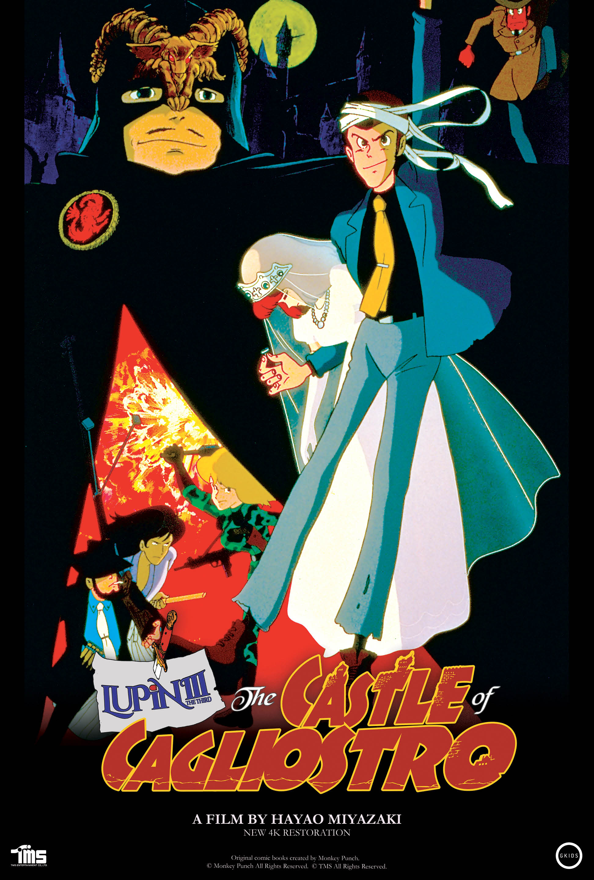 Movie poster image for LUPIN THE 3RD: THE CASTLE OF CAGLIOSTRO