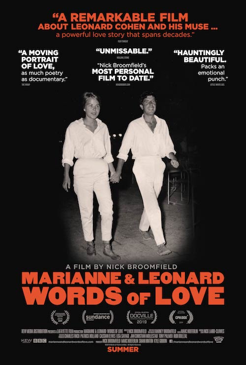 "Movie poster image for ""MARIANNE & LEONARD: WORDS OF LOVE"""