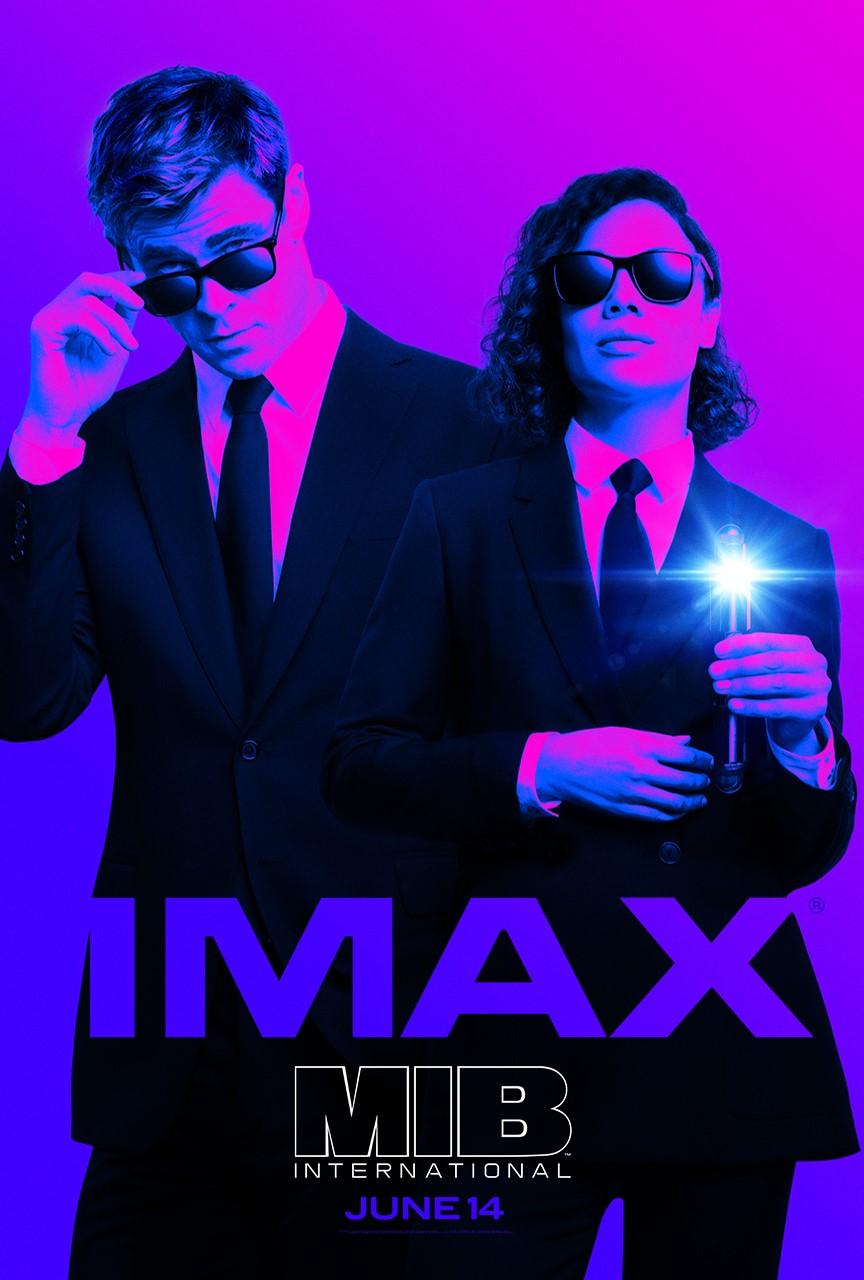 """Movie poster image for """"MEN IN BLACK: INTERNATIONAL in IMAX"""""""