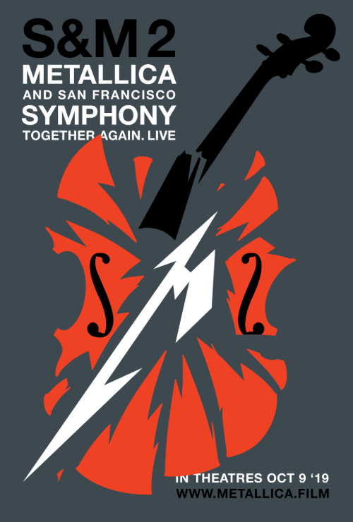 "Movie poster image for ""METALLICA & SAN FRANCISCO SYMPHONY: S&M²"""