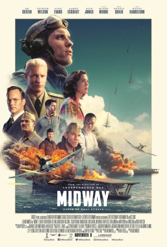 "Movie poster image for ""MIDWAY"""