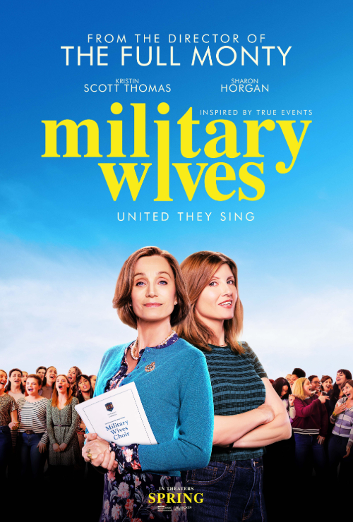 Movie poster image for 'MILITARY WIVES'