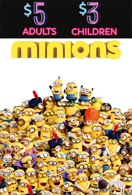Movie poster image for MINIONS