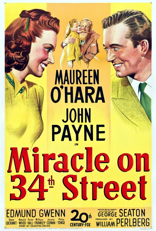 "Movie poster image for ""MIRACLE ON 34TH STREET"""