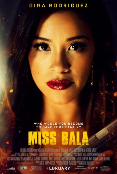 """Movie poster image for """"MISS BALA"""""""