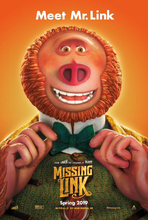 "Movie poster image for ""MISSING LINK"""