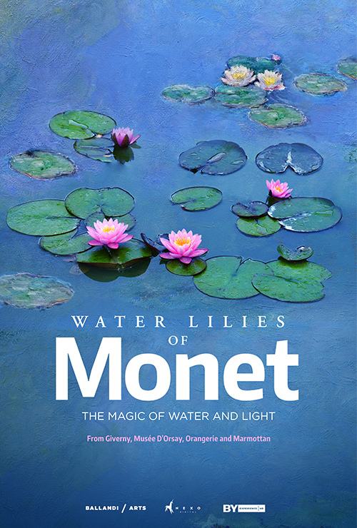 """Movie poster image for """"GREAT ART ON SCREEN: WATER LILIES OF MONET: THE MAGIC OF WATER AND LIGHT"""""""