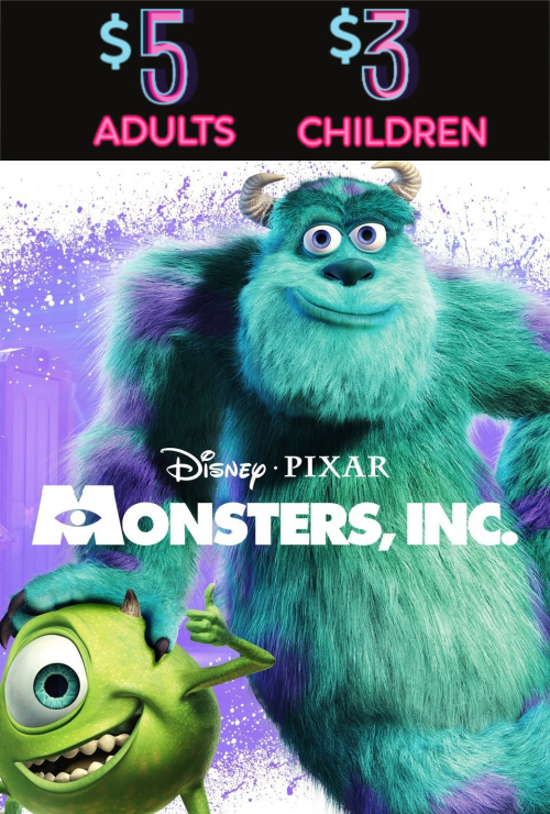 Movie poster image for MONSTERS, INC.