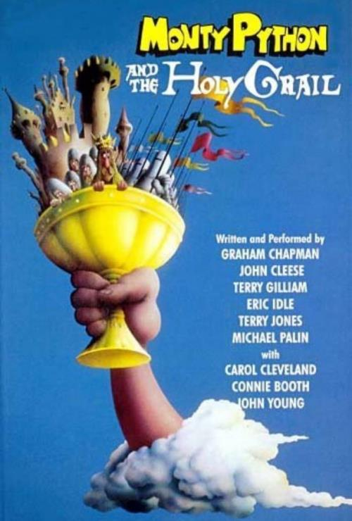 Movie poster image for 'MONTY PYTHON AND THE HOLY GRAIL'