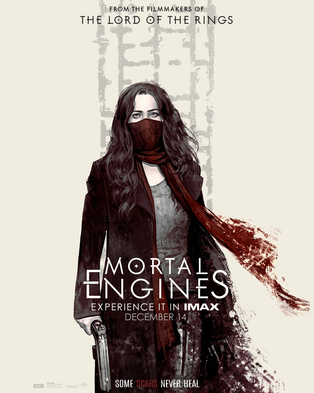 "Movie poster image for ""MORTAL ENGINES in IMAX"""