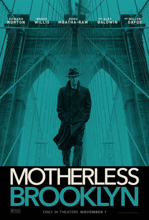 """Movie poster image for """"MOTHERLESS BROOKLYN"""""""