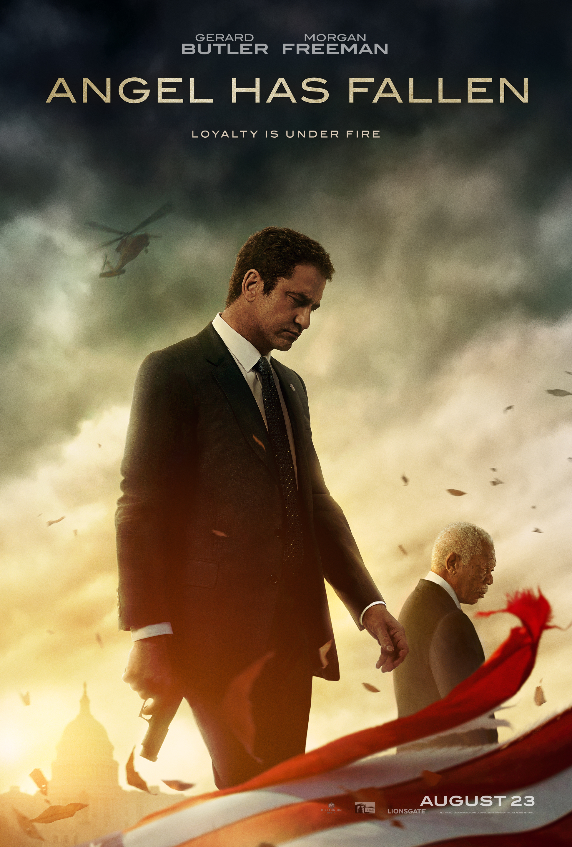 "Movie poster image for ""ANGEL HAS FALLEN"""
