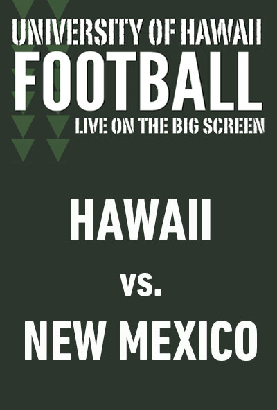 "Movie poster image for ""HAWAII vs. NEW MEXICO - UH Football"""