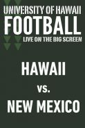 Poster of HAWAII vs. NEW MEXICO - UH Football