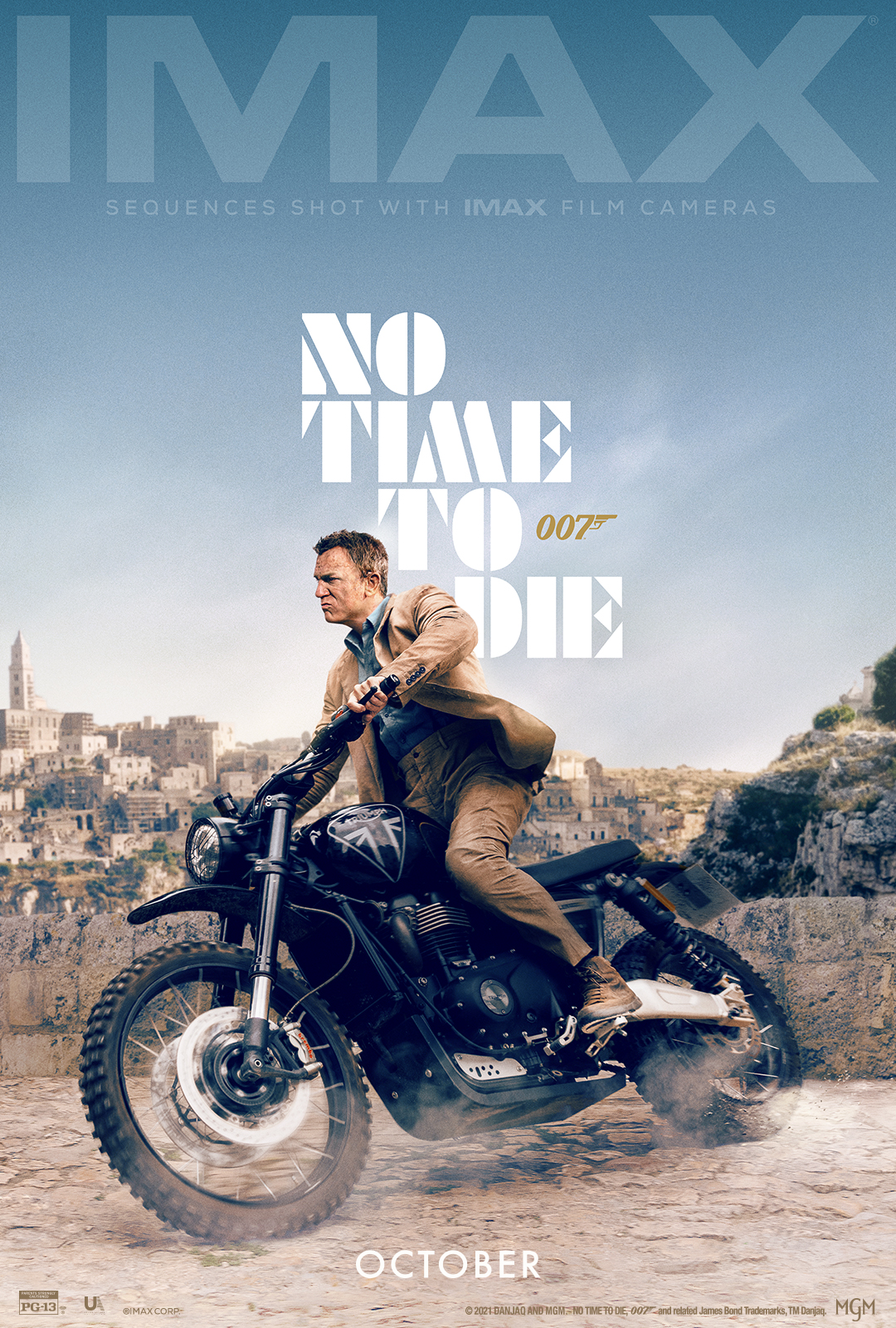 Movie poster image for NO TIME TO DIE in IMAX