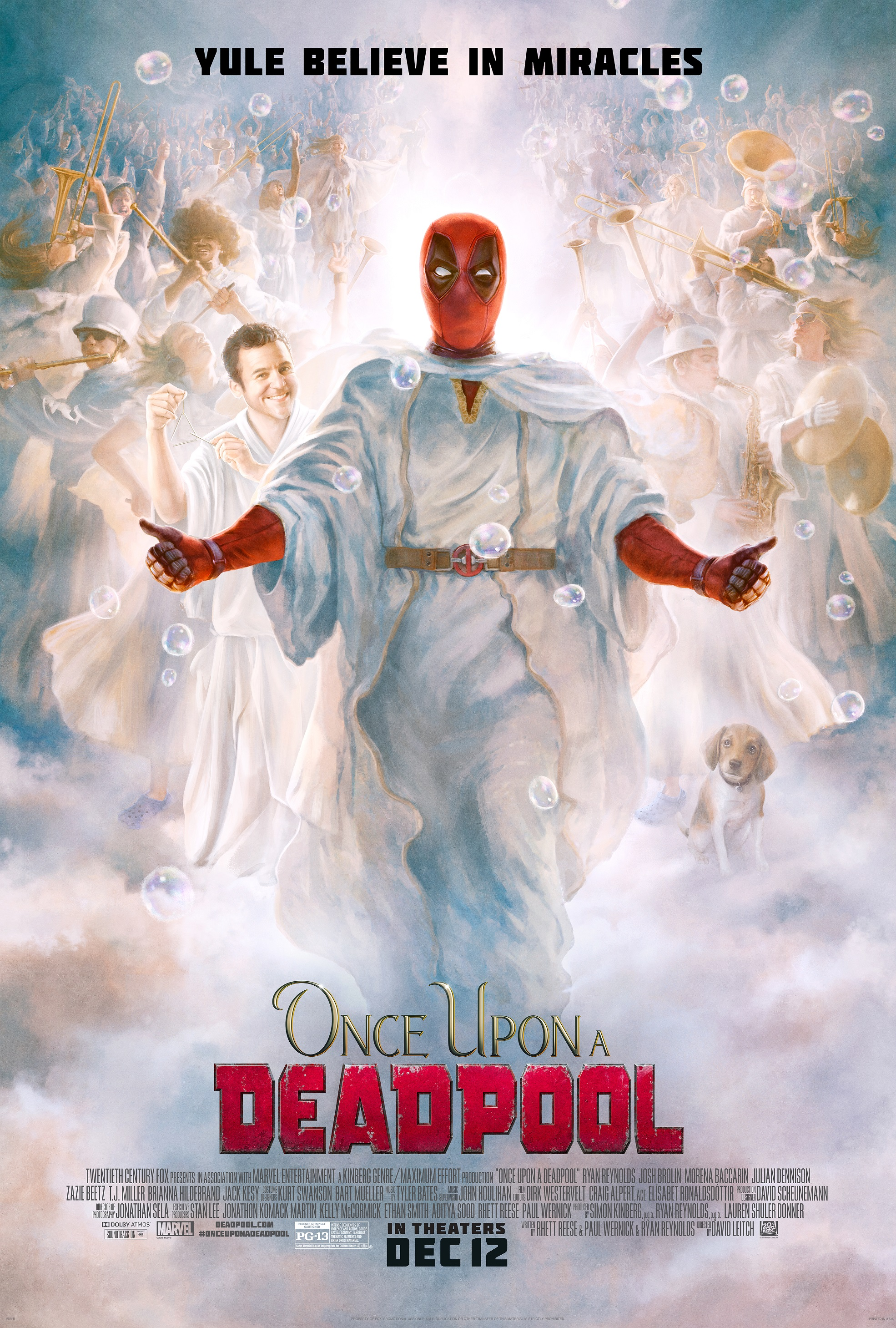 "Movie poster image for ""ONCE UPON A DEADPOOL"""