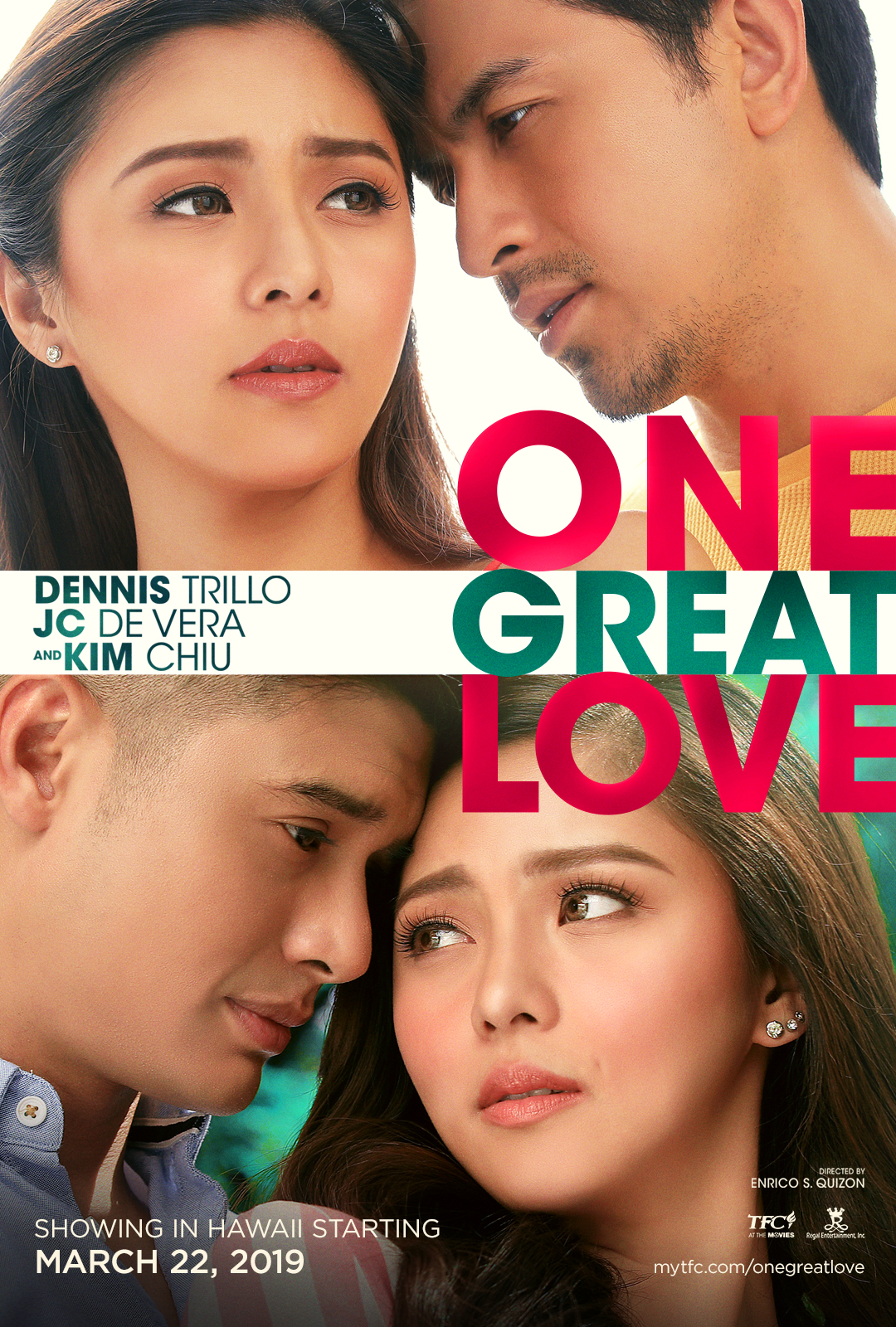 "Movie poster image for ""ONE GREAT LOVE"""