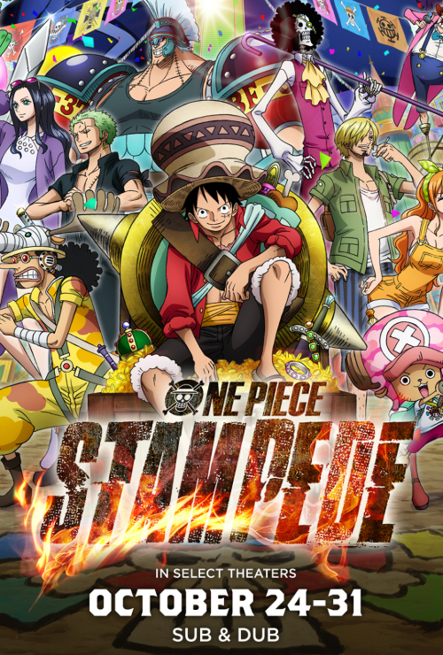 "Movie poster image for ""ONE PIECE: STAMPEDE"""