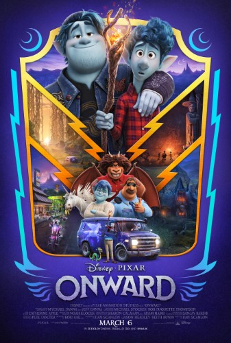 Movie poster image for 'ONWARD'