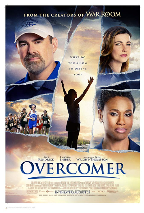 "Movie poster image for ""OVERCOMER"""