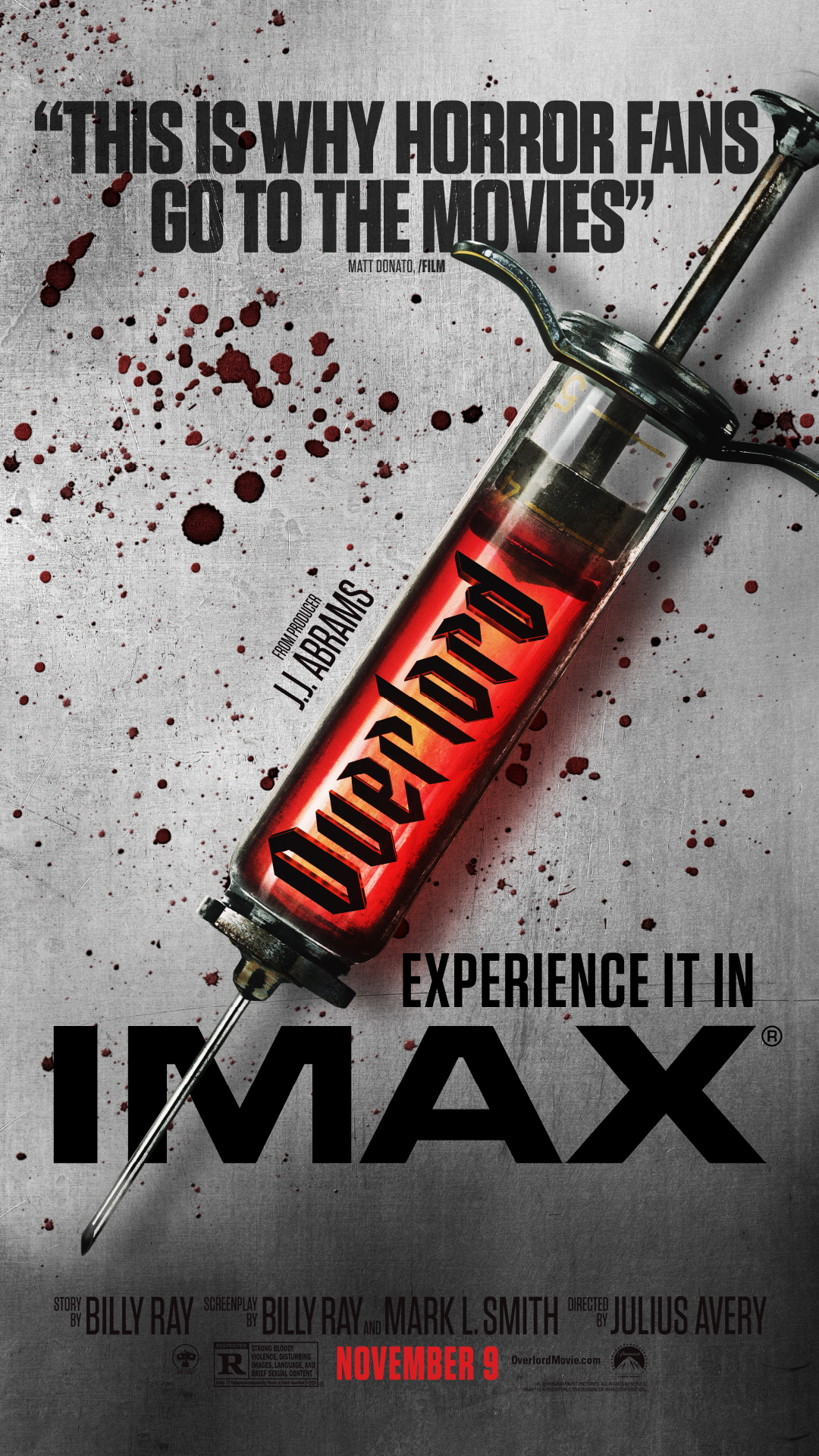 "Movie poster image for ""OVERLORD in IMAX"""