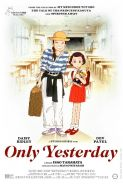 ONLY YESTERDAY - Studio Ghibli Festival Movie Poster