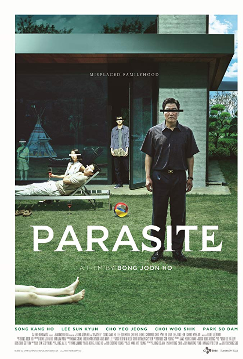 "Movie poster image for ""PARASITE"""