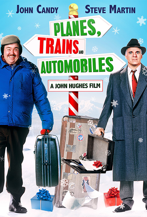 "Movie poster image for ""PLANES, TRAINS and AUTOMOBILES"""