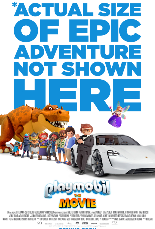 "Movie poster image for ""PLAYMOBIL: THE MOVIE"""