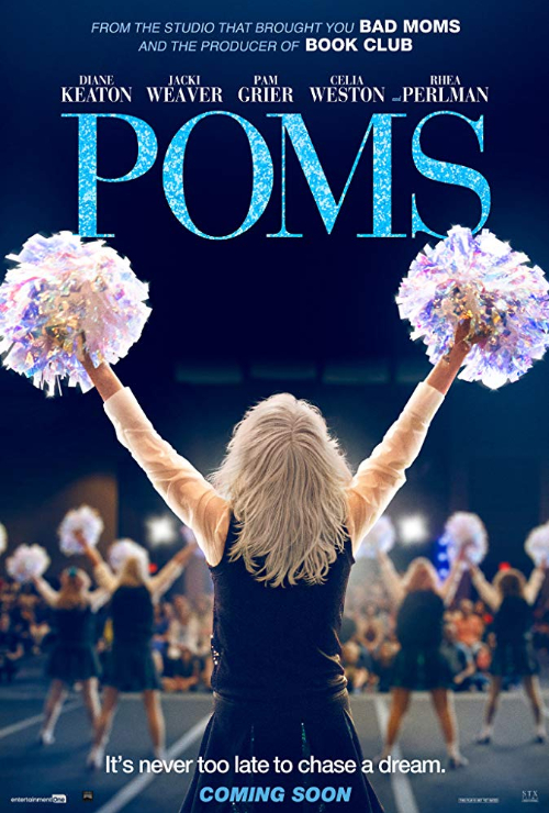 """Movie poster image for """"POMS"""""""