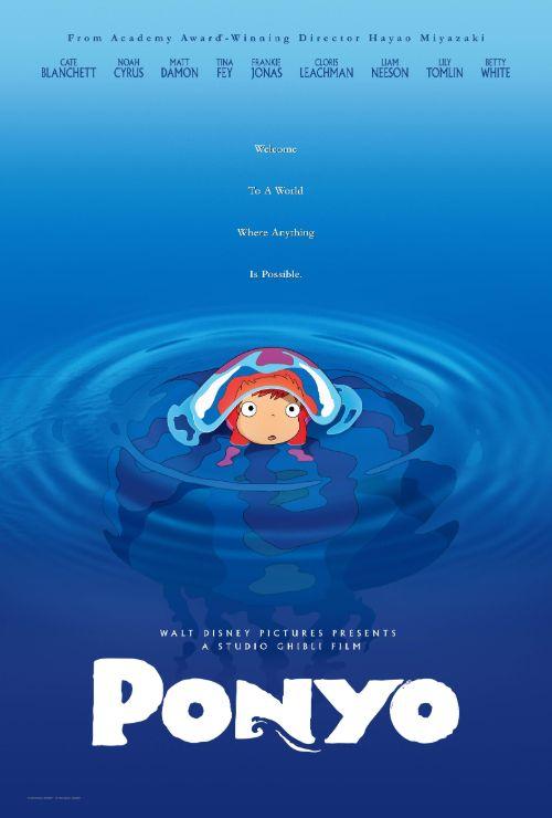 "Movie poster image for ""PONYO - Studio Ghibli Festival"""