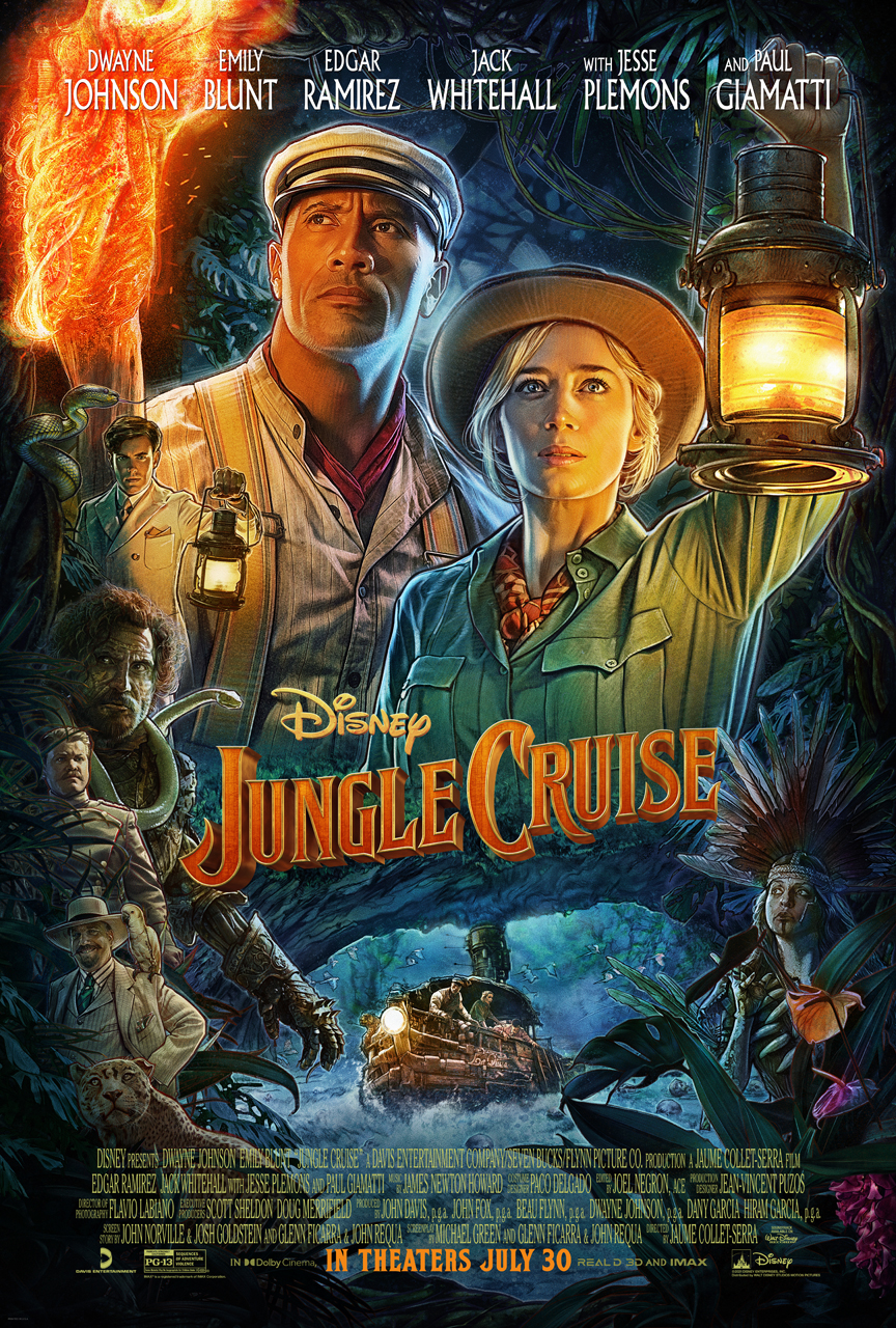 Movie poster image for JUNGLE CRUISE