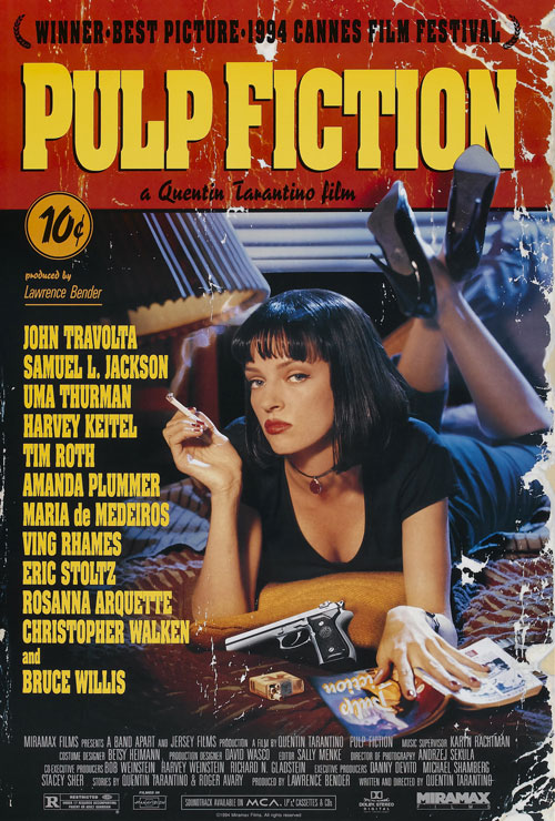 Movie poster image for 'PULP FICTION'