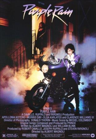 Movie poster image for 'PURPLE RAIN'