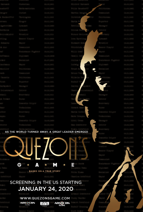 "Movie poster image for ""QUEZON'S GAME"""