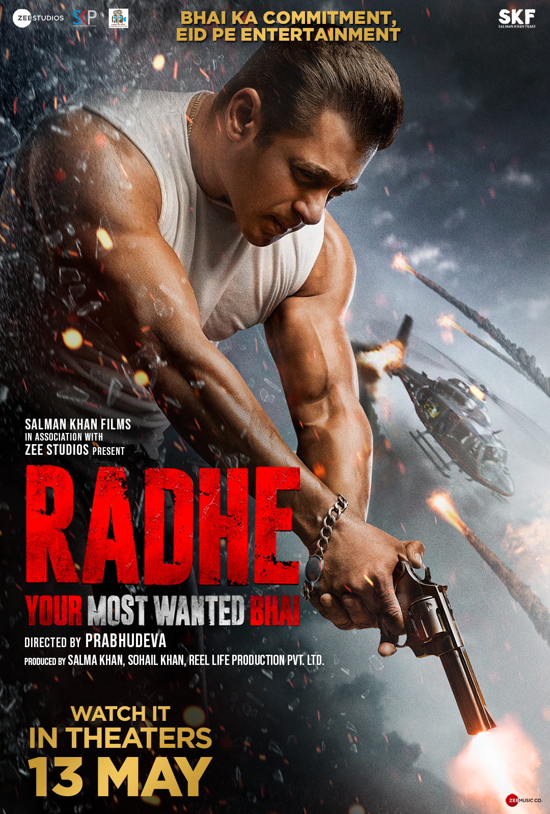 Movie poster image for RADHE - THE MOST WANTED BHAI