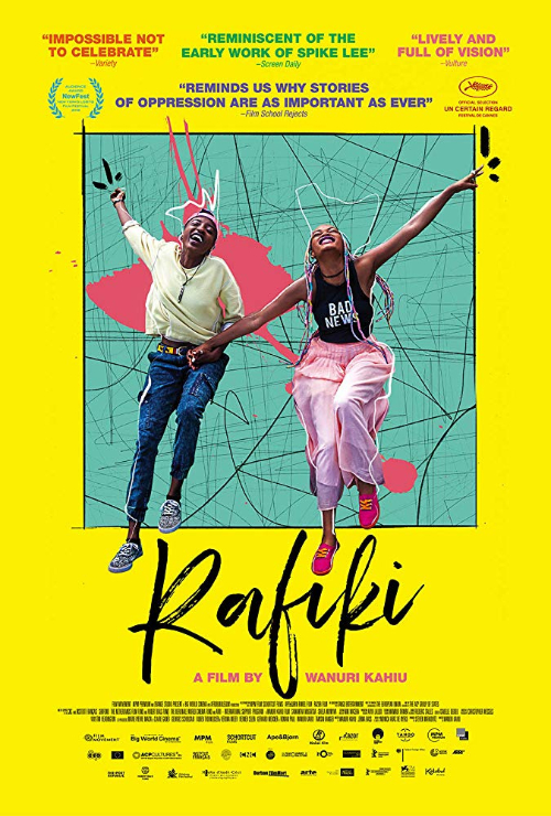 "Movie poster image for ""RAFIKI"""