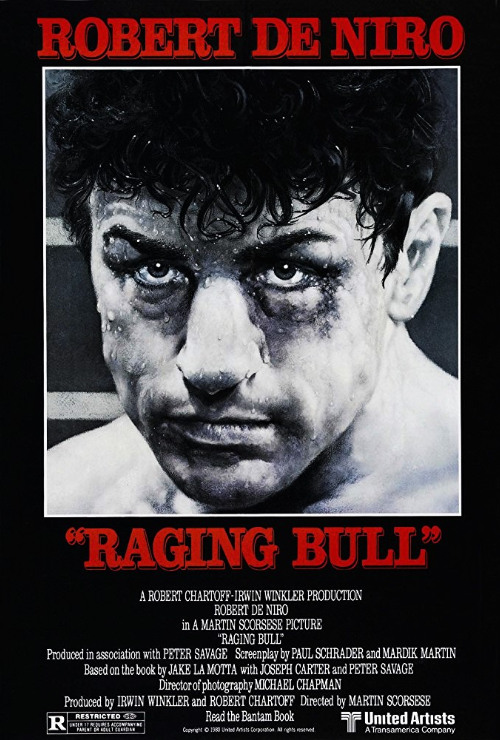 "Movie poster image for ""RAGING BULL"""