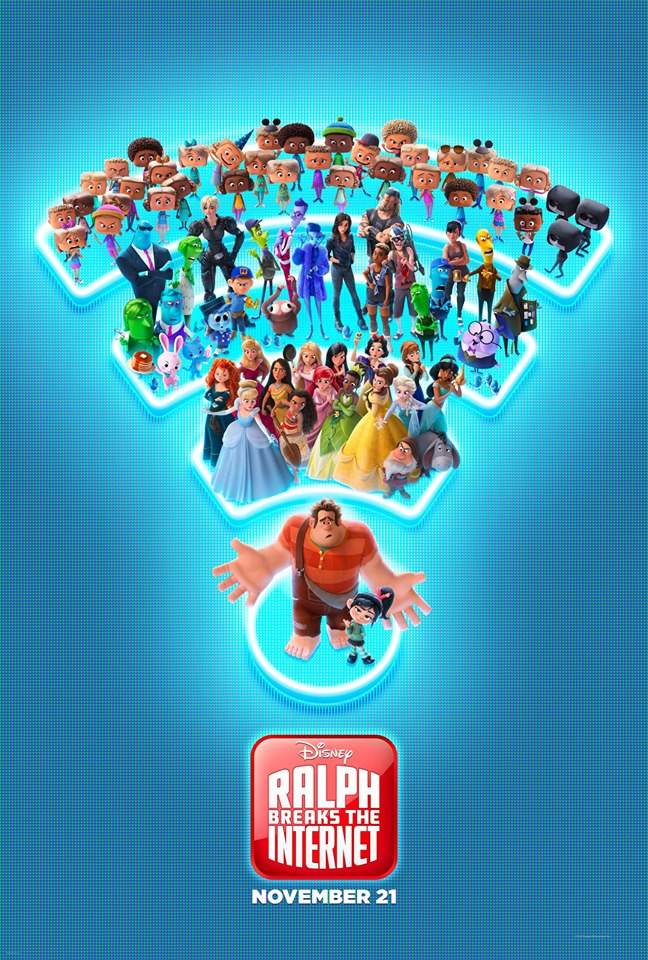 "Movie poster image for ""RALPH BREAKS THE INTERNET: WRECK IT RALPH 2"""