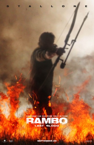 "Movie poster image for ""RAMBO: LAST BLOOD"""