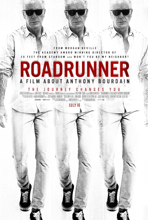 Movie poster image for ROADRUNNER: A FILM ABOUT ANTHONY BOURDAIN