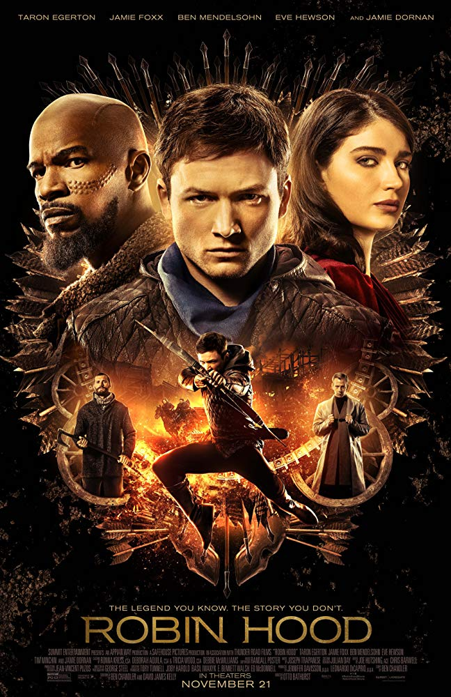 "Movie poster image for ""ROBIN HOOD"""