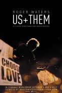 ROGER WATERS  US + THEM Movie Poster