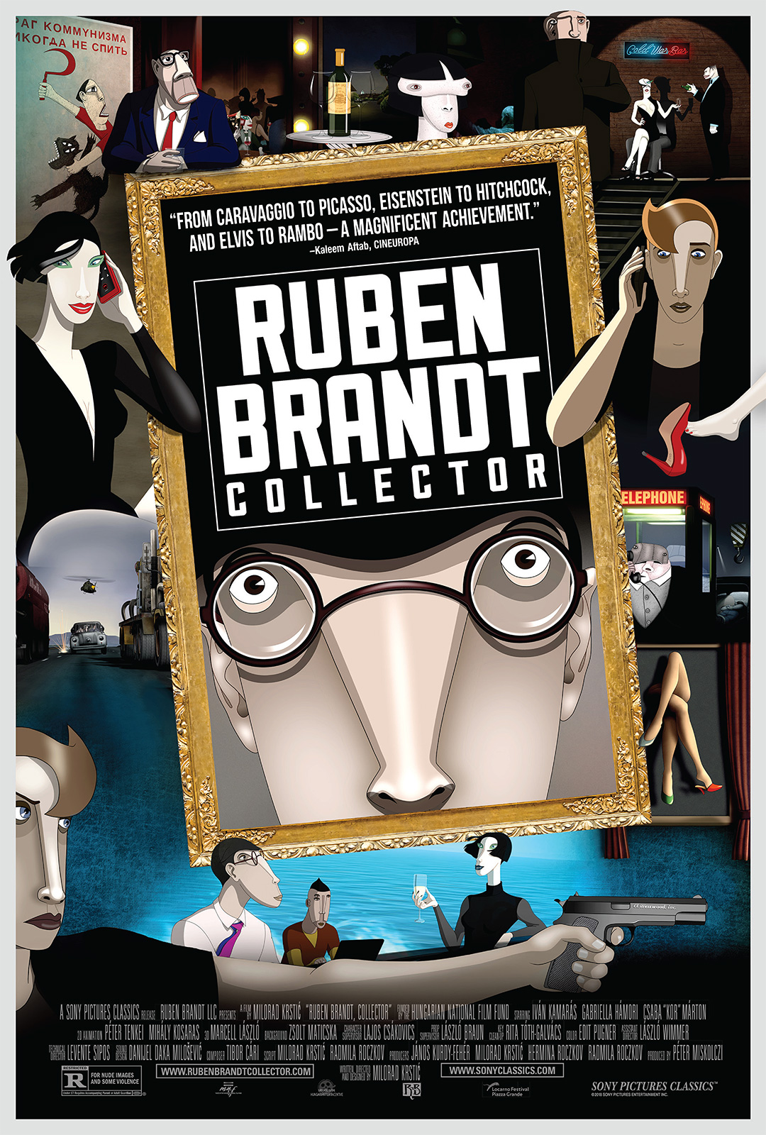 """Movie poster image for """"RUBEN BRANDT, COLLECTOR"""""""